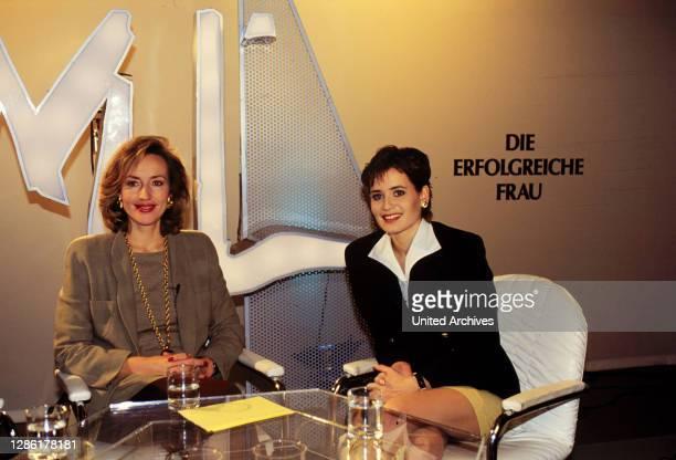 """Heike Hagedorn ist eingeladen als Gast zu einer Sendung des ZDF-Frauenjournals """"Mona Lisa"""" unter Leitung von PETRA GERSTER. Thema heute:..."""