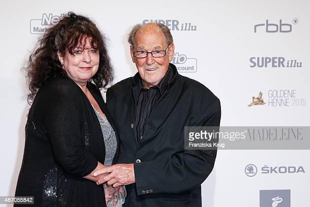 Heike Knochee and Herbert Koefer attend Madeleine At Goldene Henne 2015 on September 05 2015 in Berlin Germany