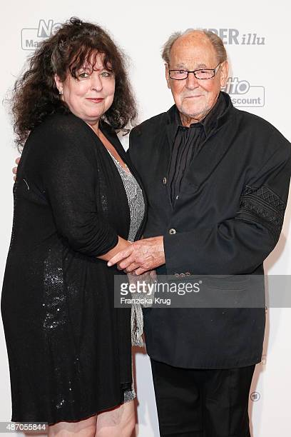 Heike Knochee and Herbert Koefer attend Madeleine At Goldene Henne 2015 on September 05, 2015 in Berlin, Germany.