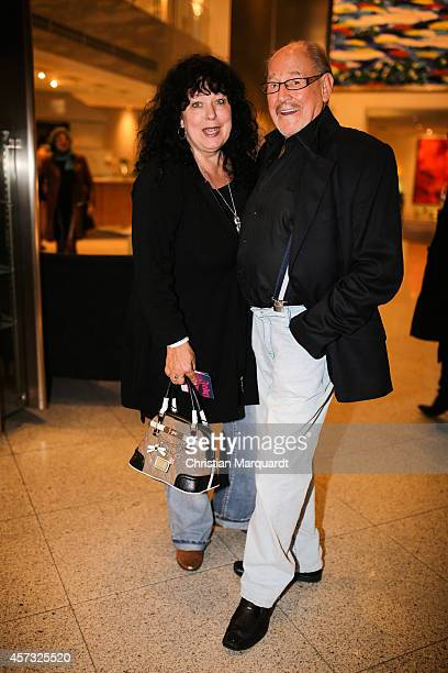 Heike Koefer and Herbert Koefer attend the premiere for 'Berliner Jedermann' at Berliner Dom on October 16 2014 in Berlin Germany