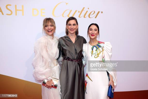 Heike Makatsch and Christiane Paul and Sibel Kekilli during the Clash de Cartier The Opera event at Eisbachstudios on October 24 2019 in Munich...