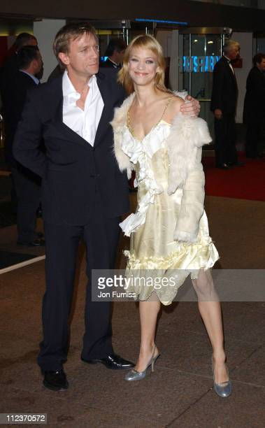 Heike Makatsch and guest during 'Love Actually' London Premiere Arrivals at The Odeon Leicester Square in London United Kingdom