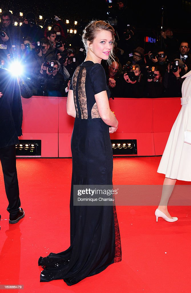 Heike Makatsch attends 'The Grandmaster' Premiere during the 63rd Berlinale International Film Festival at Berlinale Palast on February 7, 2013 in Berlin, Germany.