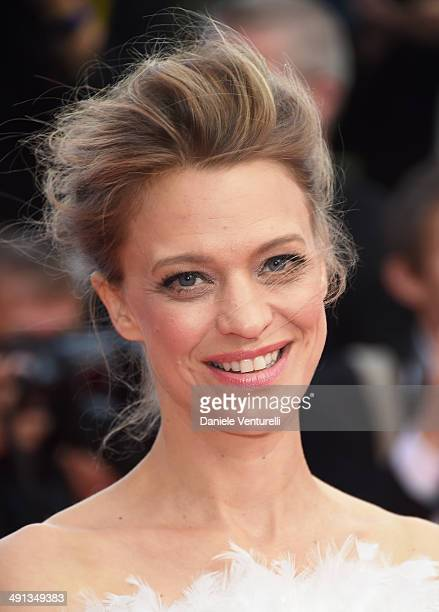 """Heike Makatsch attends the """"How To Train Your Dragon 2"""" Premiere at the 67th Annual Cannes Film Festival on May 16, 2014 in Cannes, France."""
