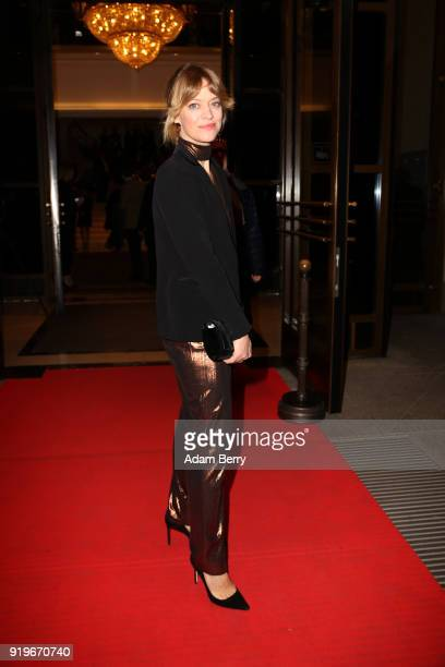 Heike Makatsch attends the Medienboard BerlinBrandenburg Arrivals during the 68th Berlinale International Film Festival Berlin at on February 17 2018...