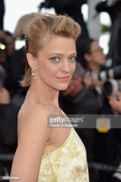 """Heike Makatsch attends the """"The Meyerowitz Stories"""" screening during the 70th annual Cannes Film Festival at Palais des Festivals on May 21, 2017 in..."""