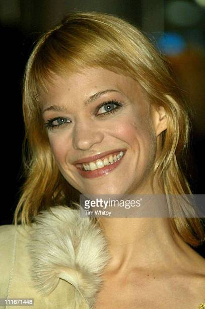 """Heike Makatsch during """"Love Actually"""" London Premiere - Arrivals at The Odeon Leicester Square in London, United Kingdom."""