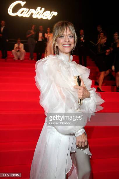 """Heike Makatsch during the """"Clash de Cartier - The Opera"""" event at Eisbachstudios on October 24, 2019 in Munich, Germany."""