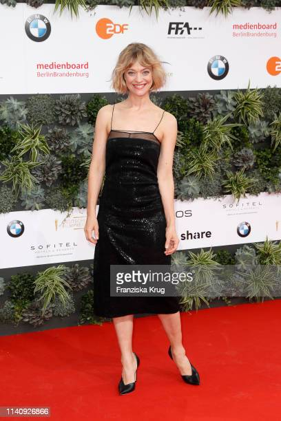 Heike Makatsch during the Lola - German Film Award red carpet at Palais am Funkturm on May 3, 2019 in Berlin, Germany.