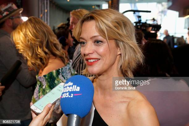 Heike Makatsch during the premiere of ''Das Pubertier'' at Mathaeser Filmpalast on July 4 2017 in Munich Germany