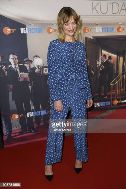 Heike Makatsch during the premiere of 'Ku'damm 59' at Cinema Paris on March 7 2018 in Berlin Germany