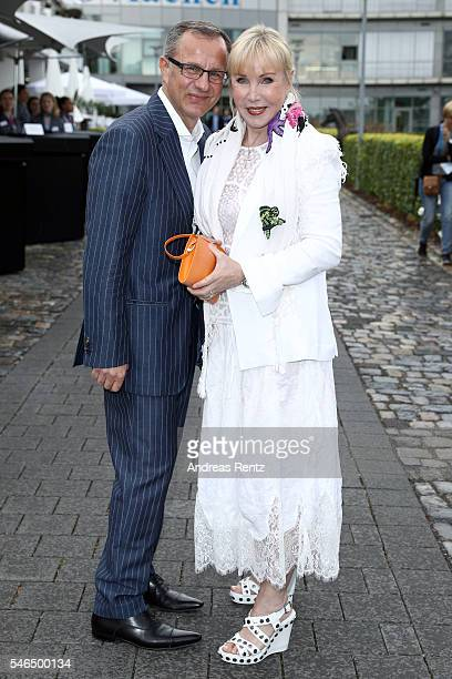 Heike Maurer and her husband Ralf Immel attend the media night of the CHIO 2016 on July 12 2016 in Aachen Germany