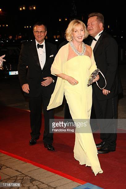 Heike Maurer and husband Ralph Immel at the German Opera Ball In The Old Open In Frankfurt