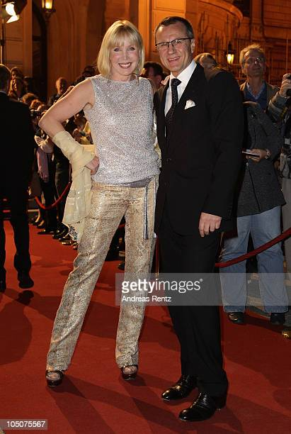 Heike Maurer and Ralf Immel attend the 'Hesse Movie Award 2010' at the Alte Oper on October 8 2010 in Frankfurt am Main Germany