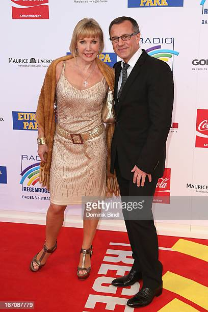 Heike Maurer and Ralf Immel attend the Radio Regenbogen Award 2013 at Europapark on April 19 2013 in Rust Germany