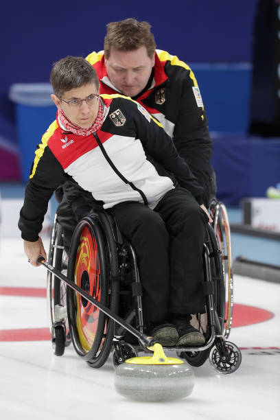 paralympics pyeongchang 2018 wheelchair curling pictures getty