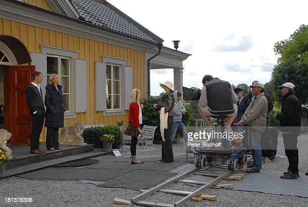 Heikko Deutschmann Julia Stinshoff Rosa Lenz Irm Hermann Ulli Baumann Teammitglieder ZDFSonntagsfilm Inga LindströmFilm Folge 33 Mein falscher...