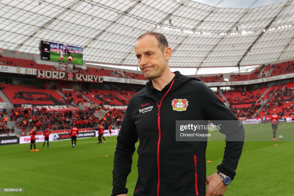 Bayer 04 Leverkusen v VfB Stuttgart - Bundesliga : News Photo