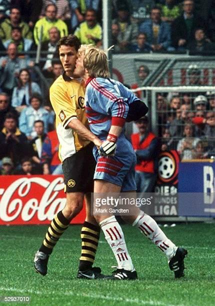 2 Heiko HERRLICH/Dortmund Torwart Oliver KAHN/Bayern