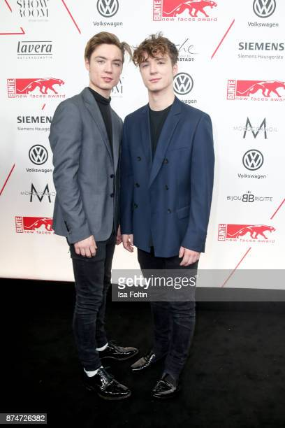 Heiko Lochmann and Roman Lochmann alias 'Die Lochis' during the New Faces Award Style 2017 at The Grand on November 15 2017 in Berlin Germany