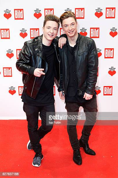 Heiko Lochmann and Roman Lochmann attend the Ein Herz Fuer Kinder gala on December 3 2016 in Berlin Germany
