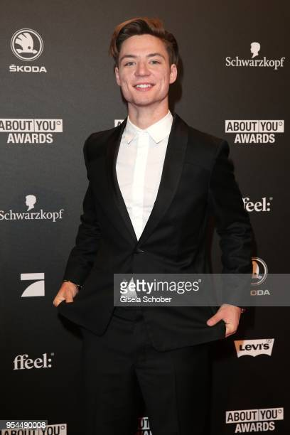 Heiko Lochmann die Lochis during the 2nd ABOUT YOU Awards 2018 at Bavaria Studios on May 3 2018 in Munich Germany