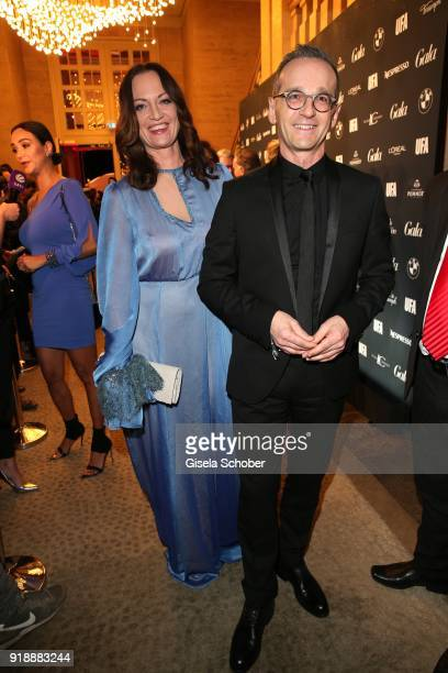 Heiko Maas and his girlfriend Natalia Woerner during the Berlin Opening Night by GALA and UFA Fiction at Das Stue on February 15 2018 in Berlin...