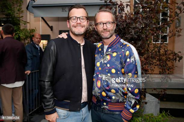 Heiko Mundt and Marcus Luft attend the 'Krug Kiosk' Event on July 11 2017 in Hamburg Germany