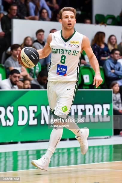 Heiko Schaffartzik of Nanterre during the Jeep Elite match between Nanterre and Pau on April 7 2018 in Nanterre France