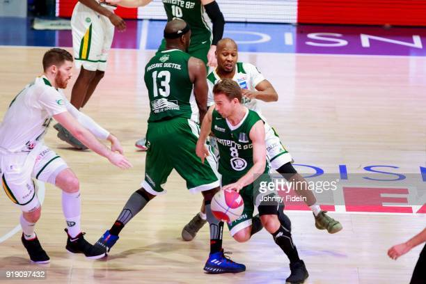Heiko Schaffartzik of Nanterre during the Leaders Cup match between Limoges v Nanterre on February 16 2018 in Paris France