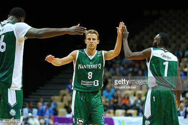 Heiko Schaffartzik of Nanterre during the match for the 3rd and 4th place between Nanterre and Khimki Moscow at Tournament ProStars at Salle Arena...