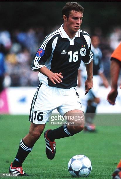 EM 2000 Heilbronn DEUTSCHLAND NIEDERLANDE 30 Gino LAUBINGER/GER