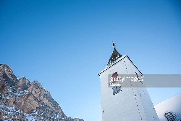 Heilig Kreuz Kirche, Südtirol, Dolomiten