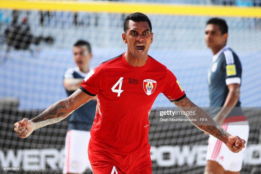 Paraguay v Tahiti - FIFA Beach Soccer World Cup Bahamas 2017 : News Photo