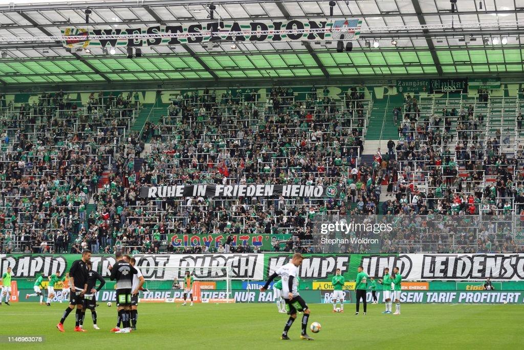 Rip Heimo During The Rapid Wien V Sk Sturm Graz Tipico Bundesliga News Photo Getty Images