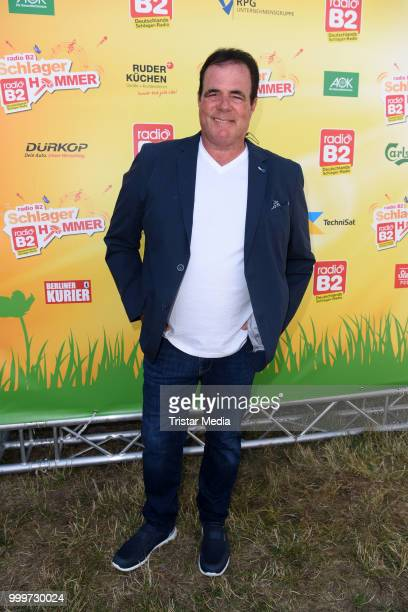 Hein Simons during the Radio B2 SchlagerHammer OpenAirFestival at Hoppegarten on July 15 2018 in Berlin Germany