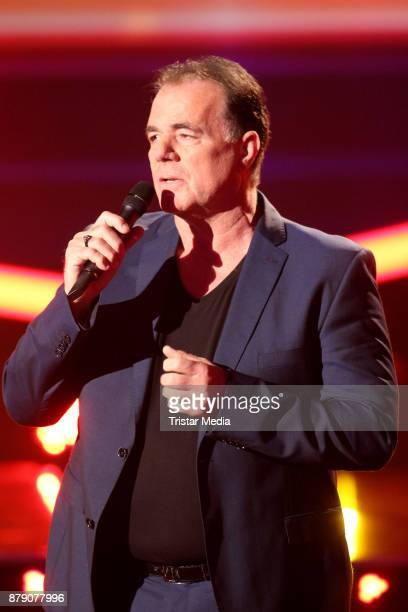Hein SImons performs at the TV Show 'Die Schlager des Jahres 2017' on November 25 2017 in Suhl Germany