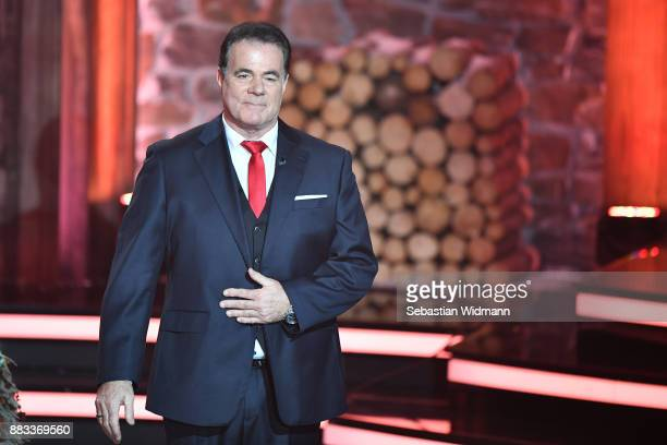Hein Simons performs during the tv show 'Heiligabend mit Carmen Nebel' on November 29 2017 in Munich Germany The show will be aired on December 24...