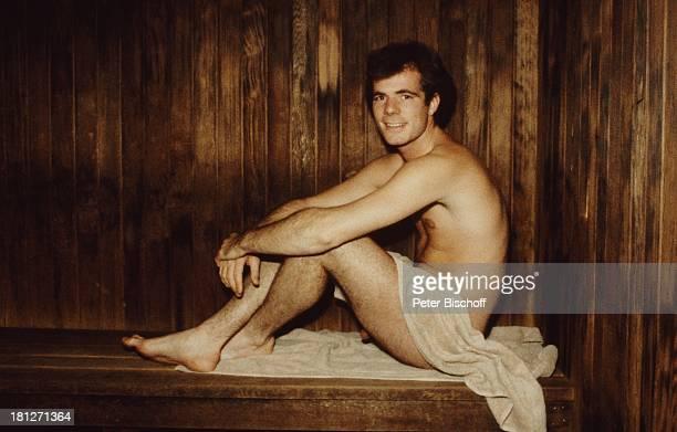 Hein Simons Toronto/Kanada/Amerika Sänger Sauna nackt
