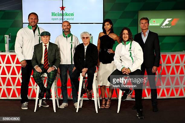 Heineken announces global partnership with Formula One Management F1 supremo Bernie Ecclestone centre joins Gianluca Di Tondo Senior Director Global...