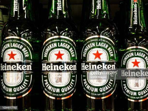 Heineken Beer seen in store