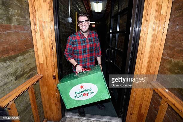 Heineken sparks parties on the evening of December 5 2014 in New York City