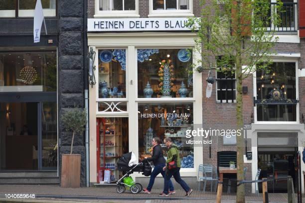 Heinen Delfts Blauw, Prinsengracht, Amsterdam, Niederlande