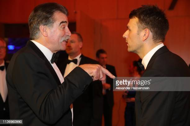 Heiner Brand attends with Christian Prokop the Ball des Sports 2019 at RheinMainCongressCenter on February 02 2019 in Wiesbaden Germany