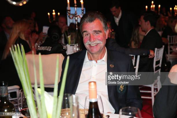 Heiner Brand during the FCR EAGLES Masters Toscana golf tournament Dinner of FalkRaudies FCR Immobilien AG at Hotel Il Pelagone and Golf Resort...