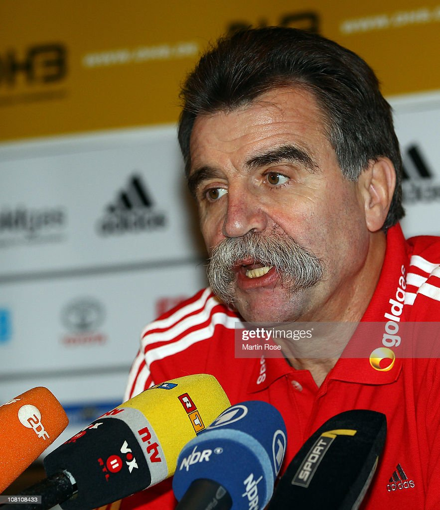 Germany - Handball Press Conference