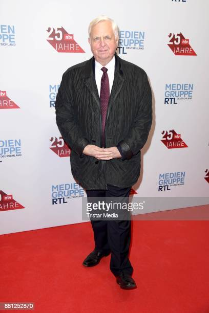 Heiner Bremer attends the 25 years anniversary ntv event at Bertelsmann Repraesentanz on November 28 2017 in Berlin Germany