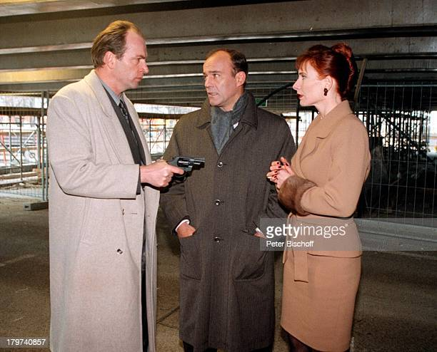 Heiner Lauterbach als Kriminalkommissar Faust Herbert Knaup als Geschäftsmann Uwe Eichmeier Andrea Sawatzki als Kerstin ZDFKrimiSerie Faust...