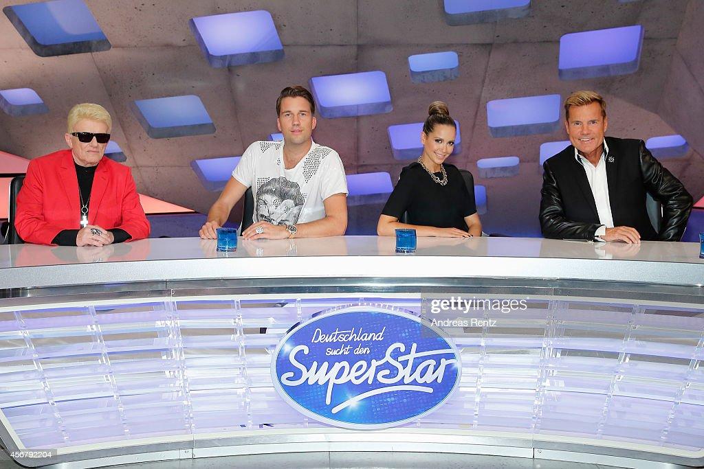 'Deutschland sucht den Superstar' Jury Photocall : Nachrichtenfoto