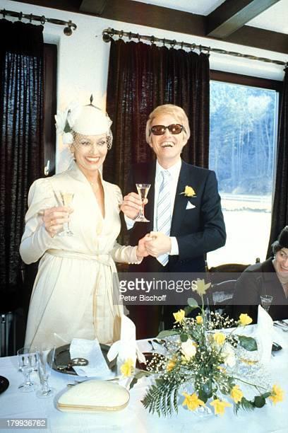 Heino Ehefrau Hannelore Kramm Hochzeit Braut Brautigam News